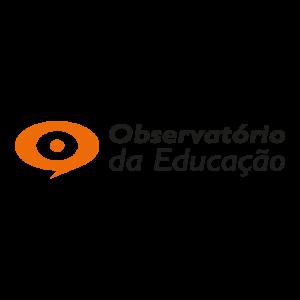 Logotipo Observatório da Educação